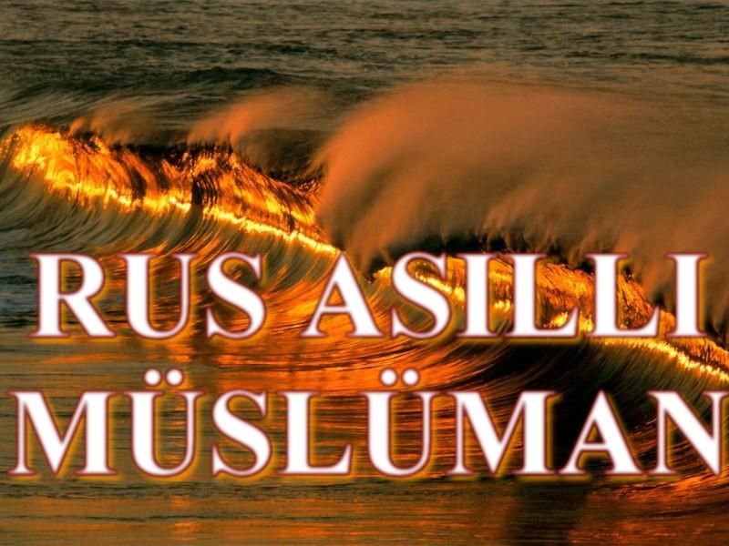 Rus Asıllı Müslüman