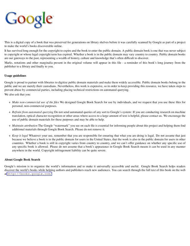 Adam Charles Gustave Desmazures - Colbert et le Canada