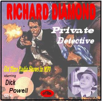 Richard Diamond, Private Detective - Single Episodes