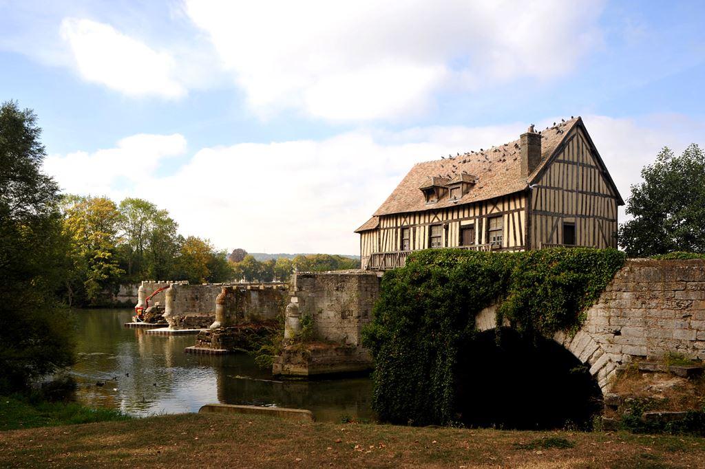 O velho moinho de Vernon